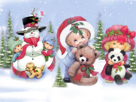 Sweet Christmas - Winter & Nature Background Wallpapers on Desktop ...
