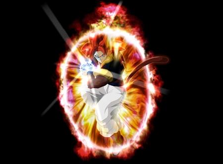 Super Saiyan 4 Gogeta - goku, 4, super, saiyan