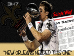 Saints Win Superbowl