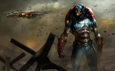 Captain America - marvel, captain america
