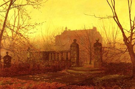 John Atkinson Grimshaw Autumn Morning Other Nature