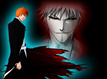 Ichigo Bankai-Hollow - hollow, ichigo, white, anime, bleach