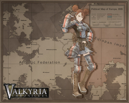 Valkyria Chronicles - rosie, valkyria chronicles