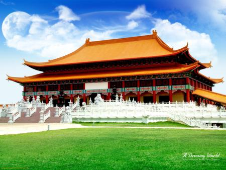 Chinese House - architecture, culture, kung-fu, ancient, houses