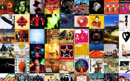 Great Music Tribute 2 - radiohead, music, led zeppelin, rolling stones, blur, kings of leon, albums, pink floyd