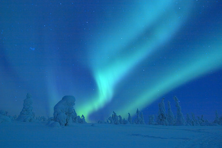 Aurora Borealis - northern lights, space, aurora borealis, sky, night