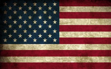 Worn US Flag - flag, blue, white, patriotism, patriotic, red, worn, stars and stripes, american, us flag