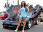 Model With Vette