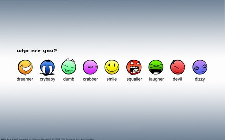 Which Character Are You? - 3d and cg, smiley, entertainment, funny, cartoon, abstract