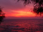 Sunset in Peloponese, Greece