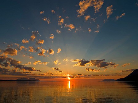 Wide Angle Sunset Sunsets Nature Background Wallpapers On