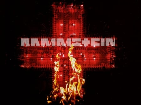 Rammstein - rammstein, german, germany, music, band, album cover, cd