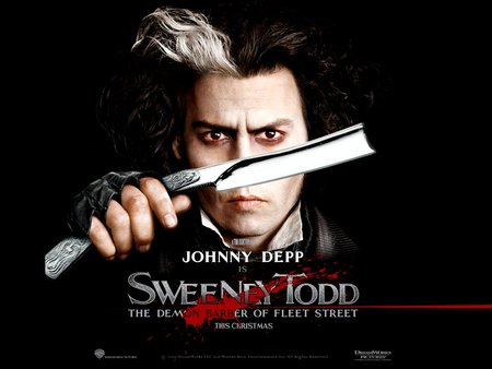 Sweeney Todd - johnny depp, sweeney todd, movies, theater, musicals
