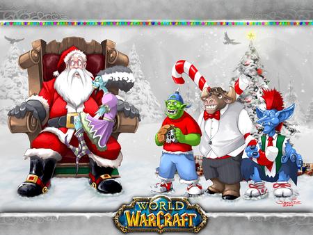 warcraft christmas world of warcraft wow warcraft game christmas - World Of Warcraft Christmas