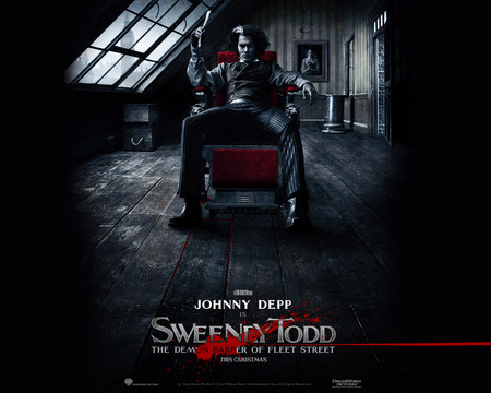 Sweeney Todd - johnny depp, sweeney todd, movie