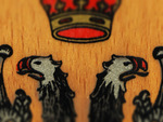 Crest on Wood / Wappen auf Holz