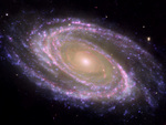 M81 Galaxy - Pink Coloration