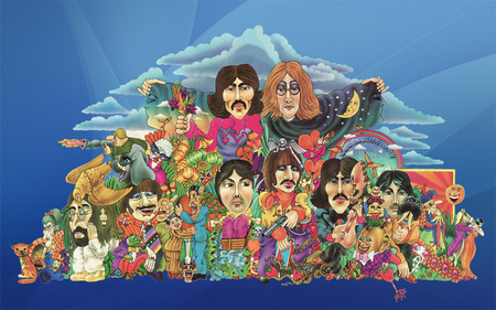 Beatles Psychedelic Pile