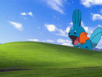 Mudkip over the hill