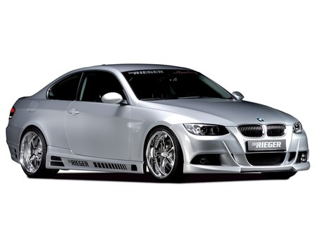 Rieger BMW 335i Coupe (E92) - bmw, car, m3, tuning, rieger