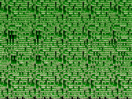 STEREOGRAM IMAGE GREEN AND BLACK