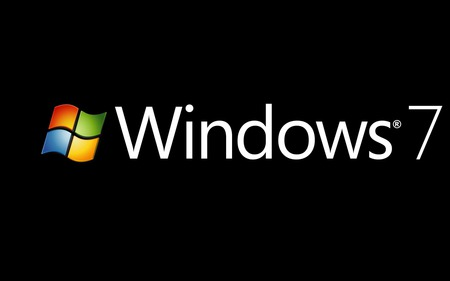 Windows Se7en Logo - widescreen, start, os, 7, black, system, windows, cool, logo, operating, new, white