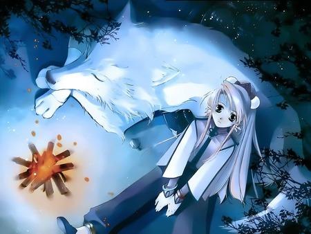 Wolf Anime Girl