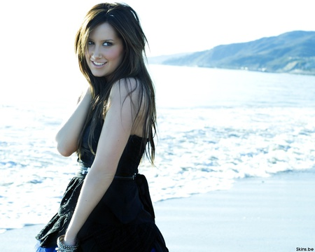 ashley-tisdale 2 - models female, lovely, sea, beach, people, beauty, movies, girls, actors