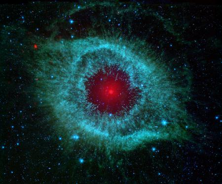 helix nebula - space, hubble, nebula