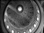 St Peters Dome, Rome Italy