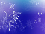 Vector Art flowers background . jpg