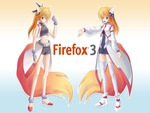 Anime fire fox