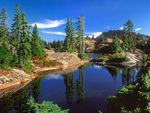 Rampart Lakes, Washington