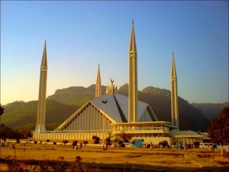 Shah Faisal Mosque Islamabad Pakistan Religious