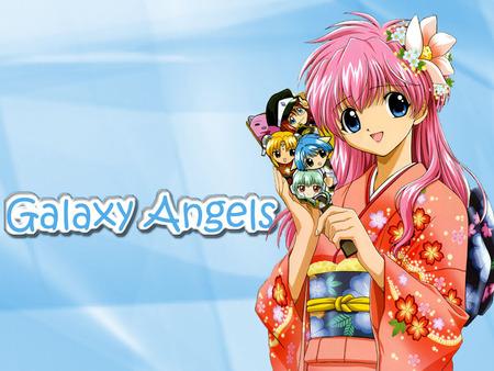 Galaxy Angel - galaxy angel, anime