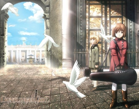 Gunslinger Girl - anime, gunslinger girl