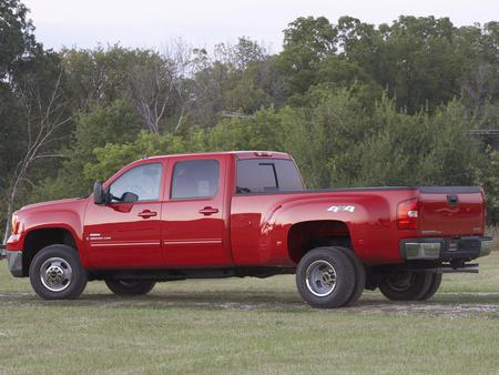 Gmc Sierra 3500 Hd Slt Crew Cab 2007 Gmc Cars Background