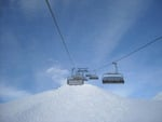 Ski Lift and Snow
