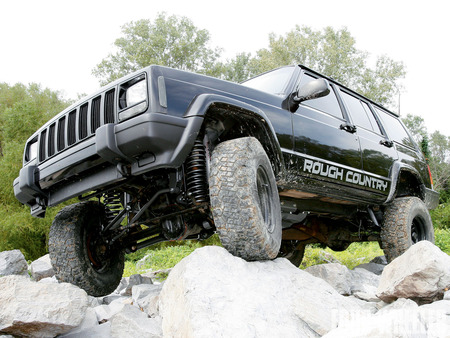 Rough Country Cherokee XJ 4.5inch Lift Long Arm - cherokee, xj, jeep, wranlger
