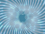 blueish apple logo