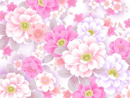 Pink flower patterns flowers nature background wallpapers on pink flower patterns mightylinksfo