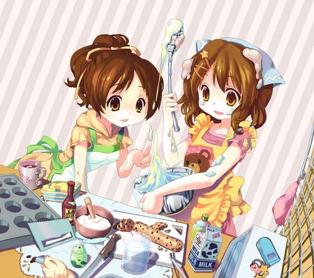 Baking Cake Other Amp Anime Background Wallpapers On