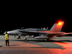 F18 Night Manuvers