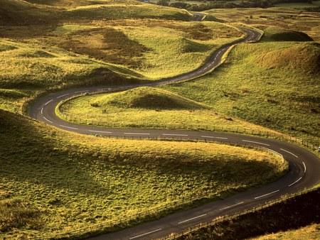 Road Through Fields