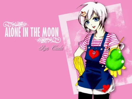 Alone In The Moon - Rara Claudia - girly, otaku, my own creation, anime