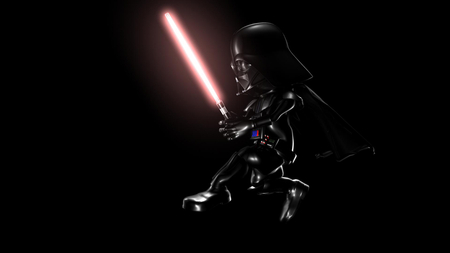 Mini Dark Vador 3d And Cg Abstract Background Wallpapers