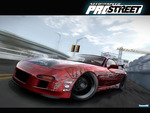 need for speed-pro street,red car