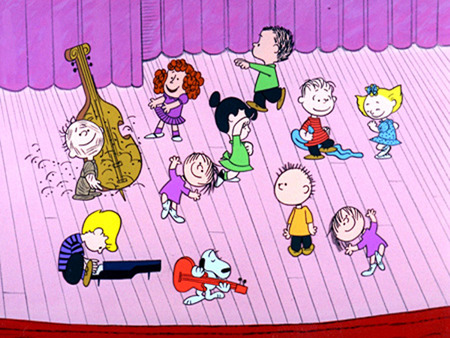 Charlie Brown Christmas 3 Funny Entertainment Background
