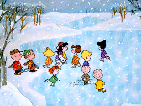 Charlie Brown And Friends Ice Skating Funny Entertainment Background Wallpapers On Desktop Nexus Image 309295