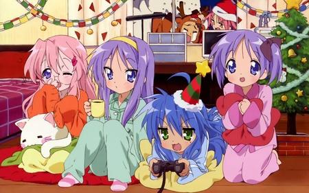 Christmas Anime - anime, christmas